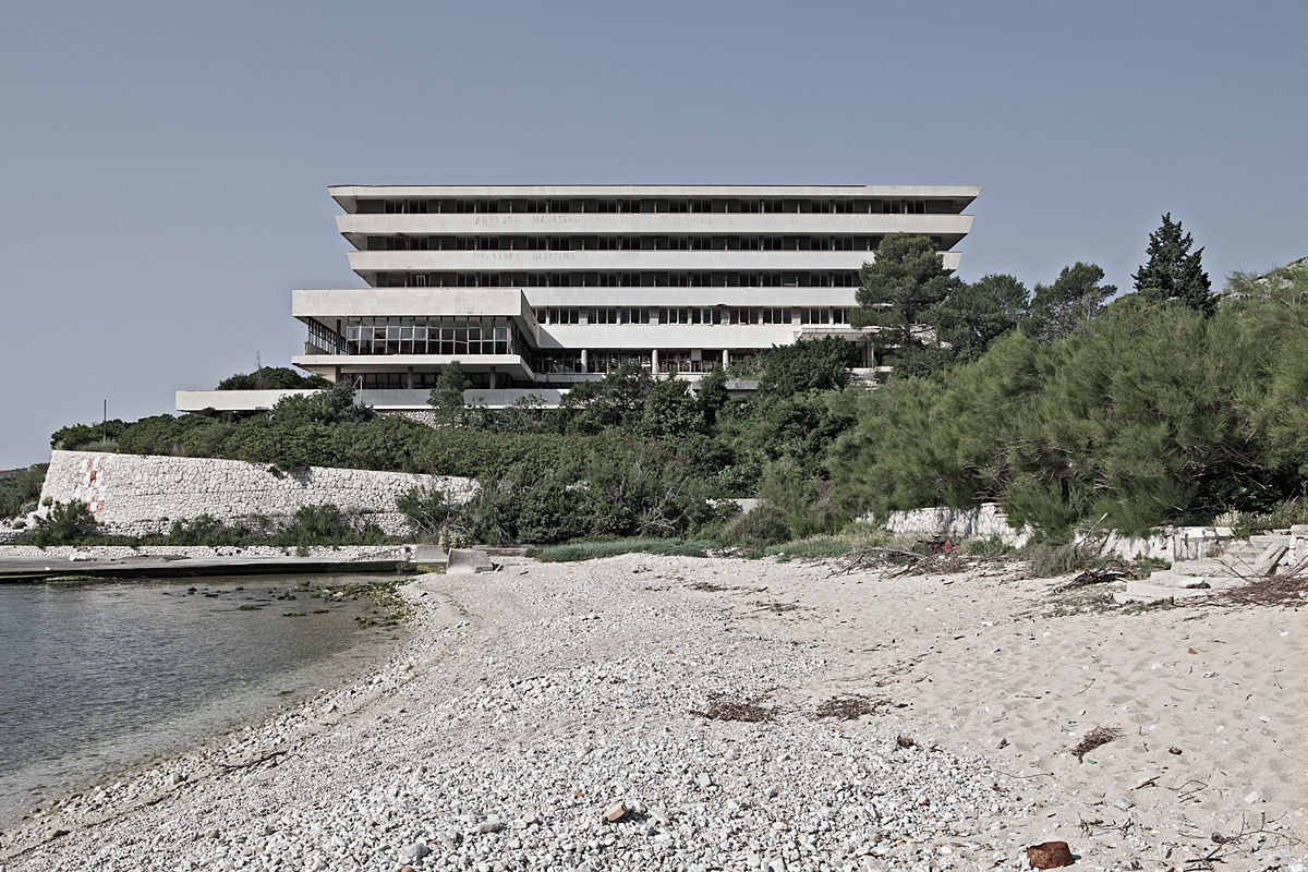 no vacancy #6, croatia, 2011 (military owned hotel during communist days. destroyed in the balkan war and never reopened)