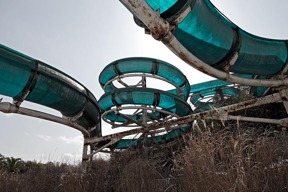 it was a pleasure #1, japan, 2010 (waterslide, now demolished)